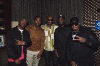 112 and Tony Rock at 112's 'Q Mike Slim Daron' Album Listening Session
