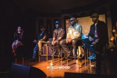 112 at their 'Q Mike Slim Daron' Album Listening Session