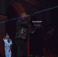 Chris Brown and O.T. Genesis at the HOAFM Album Release in LA