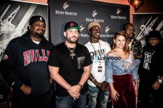 DJ Drama, Dre Tha Oneda, Frank Bank and Judges at the Remy Producers Season 4 LA Preliminary