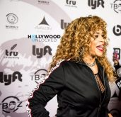 Faith Evans at T-Boz Unplugged 2017 in LA