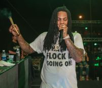 Waka Flocka at High Life Music Festival 2017