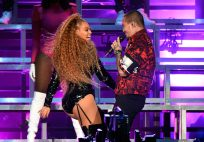 (GETTY) Coachella Weekend 2, Day 2 - Beyonce and J Balvin