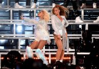 (GETTY) Coachella Weekend 2, Day 2 - Beyonce and Solange