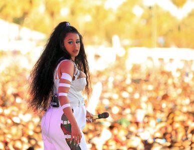 (GETTY) Coachella Weekend 2, Day 3 - Cardi B