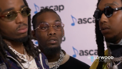 Migos at 2018 ASCAP Rhythm Soul Music Awards