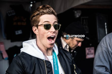 Shaun White at his 2018 Air + Style Festival